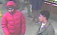 Images of possible witnesses in McDonald's slaying.