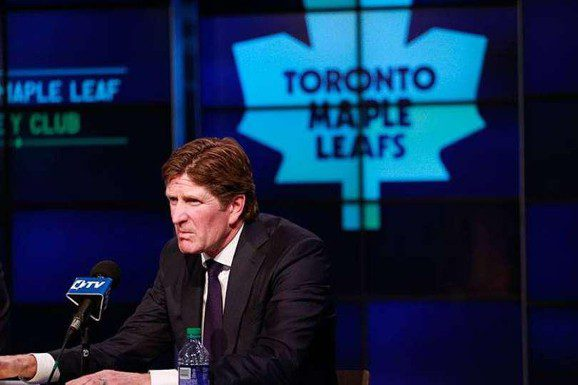 Toronto Maple Leafs Coach Mike Babcock is one of the bright spots in the Leafs rebuild
