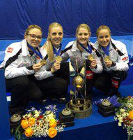 Team Pätz after their world championship victory.