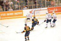In his third career start, Generals goalie Liam Devine allowed five goals on 26 shots.