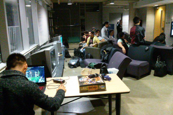 Gamers enjoy some late-night friendly competition at Ryerson