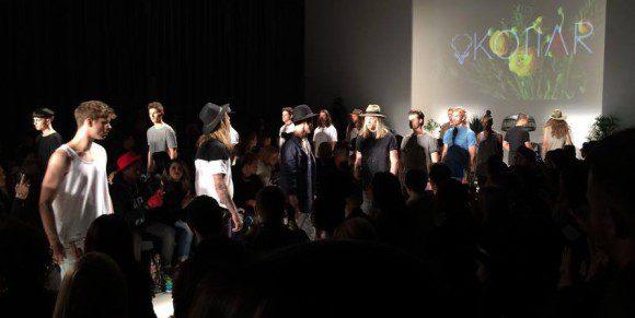 Kollar Clothing's fashion show on Oct. 23 at Toronto Fashion Week 2015.