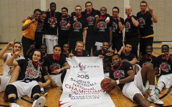 The Humber Hawks of Ontario are the defending national champions for men's basketball.