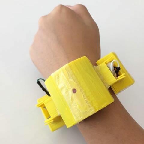 HeartWatch prototype.