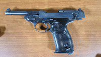 A handgun submitted to Toronto Police.