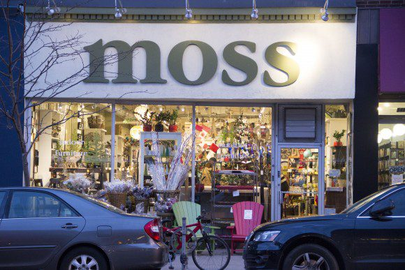 Moss located at 544 Danforth Ave.
