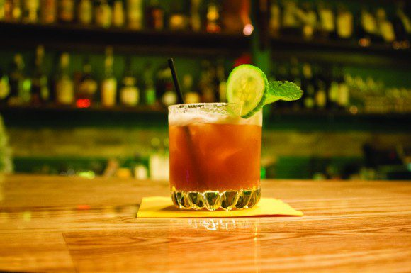 The signature drink at The Shore Leave, 1775 Danforth Ave., is a delicious combination of homemade liqueur and a hearty serving of rum.