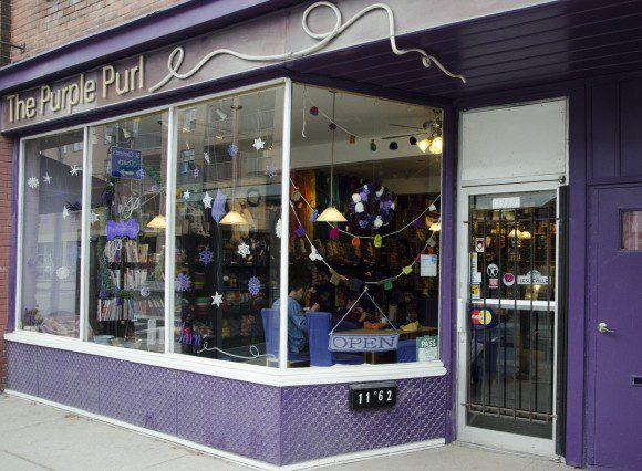 The Purple Purl
