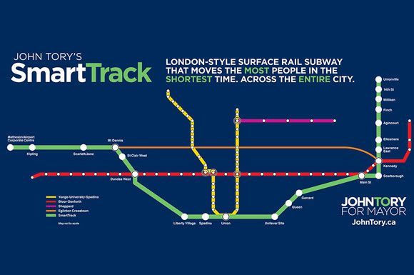 Ttc Subway Map Green Line.4 Neighbourhoods That Could Benefit From Its Smarttrack Station