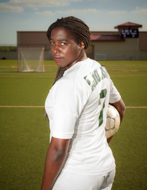 St. Leo Lions forward, Arielle Kabangu, will finish her junior year as the teams' top scorer.