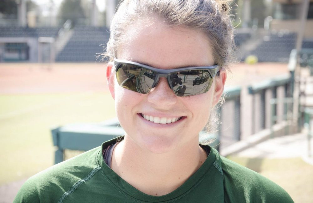 USF pitcher Erica Nunn looks to end her softball career on top before moving on to graduate school next fall.