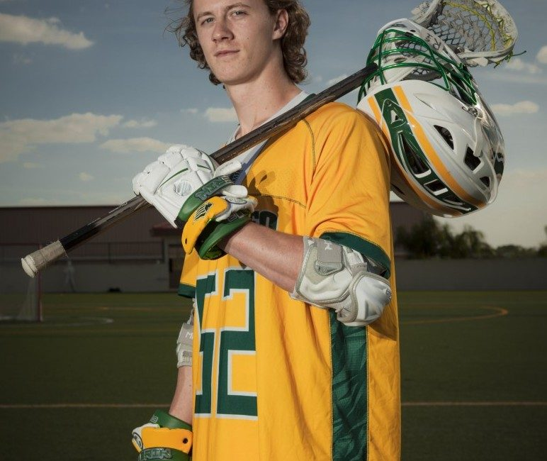 Lacrosse player Charlie Kurtenbach looks to forge own legacy during freshman year at Saint Leo University