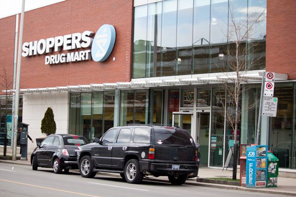 Shoppers Drug Mart is considering selling  medical marijuana in its stores, such as this Danforth Avenue location.