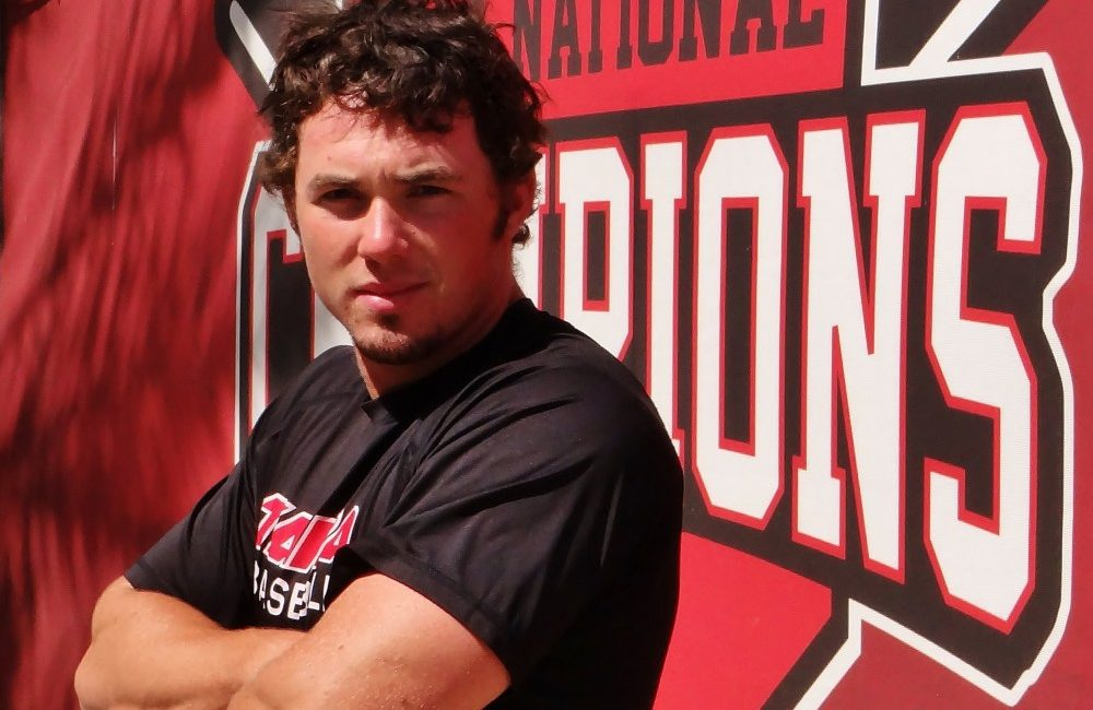 University of Tampa infielder Mitchell Preston, ready to rock the rest of the season and bring another championship title to Tampa, Fla.