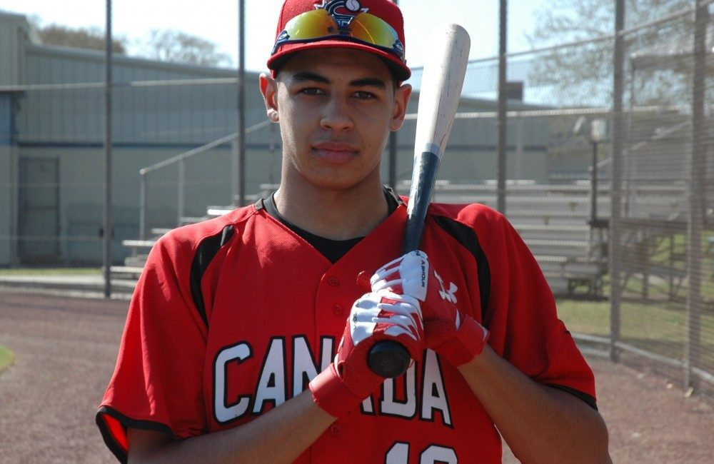 Dondrae Bremner is an intriguing young prospect that has his mind focused on his education and baseball.