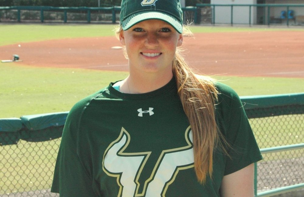 A two-time captain of her high school team, Susan Wysocki's commitment to her South Florida teammates was tested early in her career, pitching less than one inning in her first season before being redshirted.