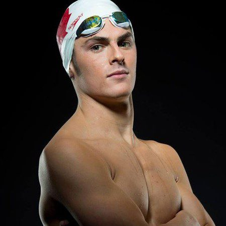 Gordie Michie - Canadian record holder in the 200m individual medley