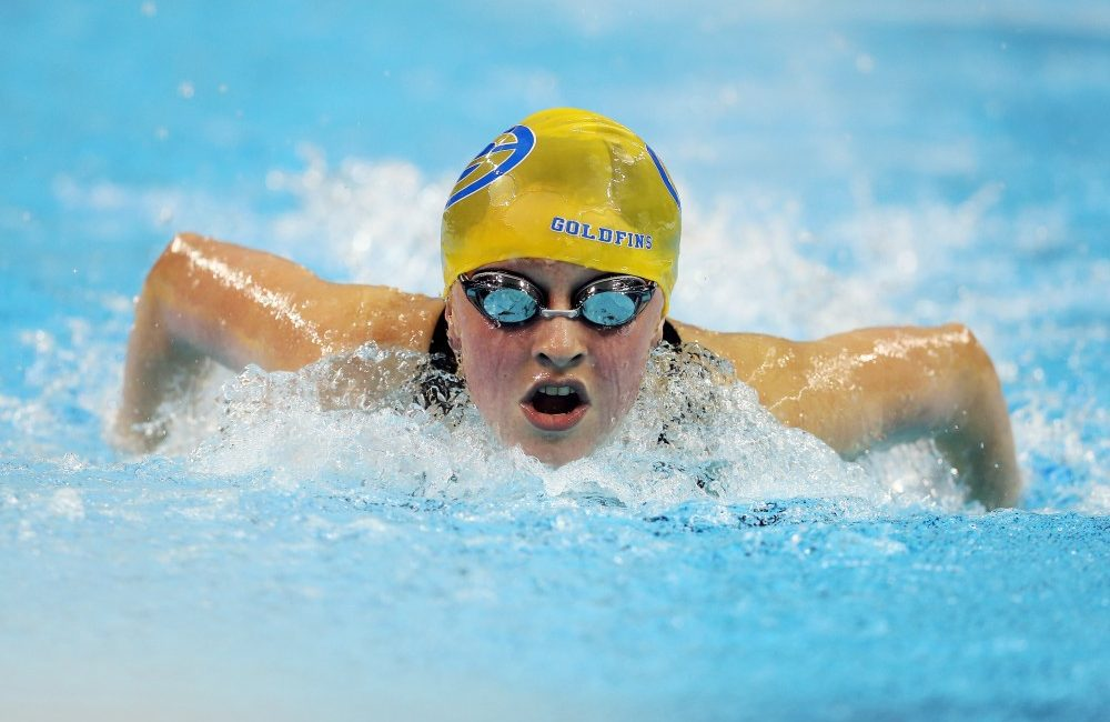 Samantha Ryan at the 2015 Can Am Para-swimming Championships
