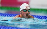 Samantha Ryan swimming at the 2015 IPC Worlds.