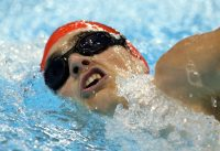 Tyler Mrak at 2015 Can Am Para-swimming Championships.