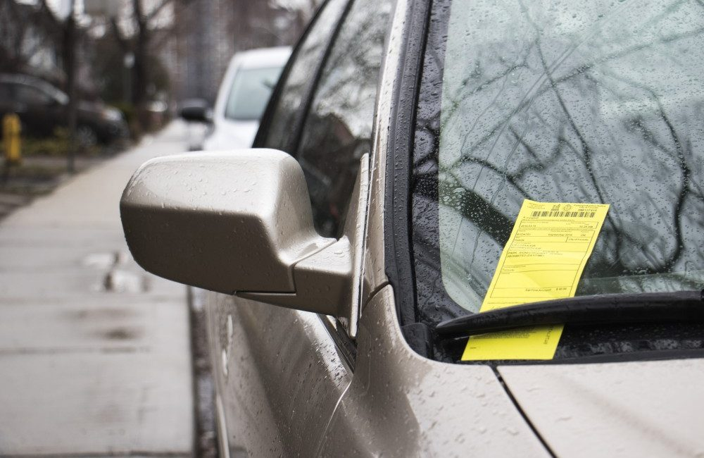 Parking fines for tickets, like this one in the east end, have jumped in Toronto.