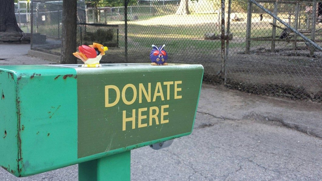 Pokémon toys can be found hidden around High Park zoo on the weekend.