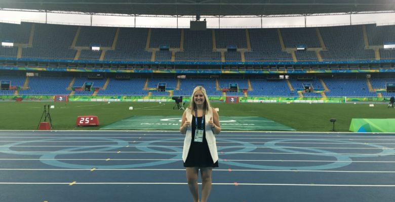 Lauren Cascagnette in Rio