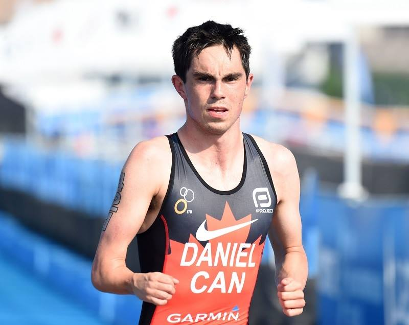 Stefan Daniel shows his power on the road by winning the ITU World Paratriathlon event in Yokohama, May 2016.