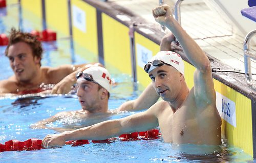 Benoit Huot, here at the 2015 Parapan Games, is inspired by the regular improvement of his sports and the Paralympic Games.