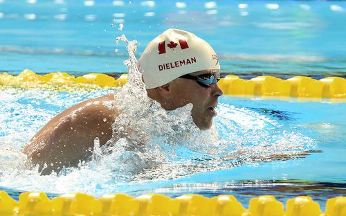 Jonathan Dieleman advanced to the men's SB3 50-metre breaststroke final at the 2016 Paralympic Games in Rio.