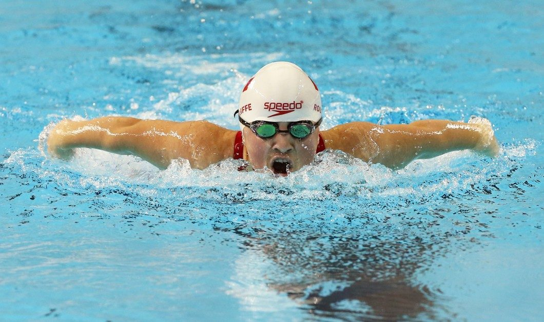 Tess Routliffe, competing at the 2015 ParaPan Games in Toronto, swims in multiple events in Rio. Photo courtesy of Canadian Paralympic Committee.