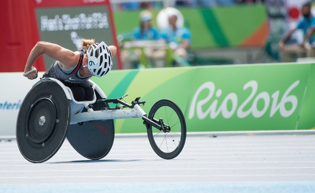 Diane Roy, competing in the women's 400m T54 heat in Rio, says being at her sixth Paralympics only sparks her passion. Photo courtesy of Canadian Paralympic Committee.