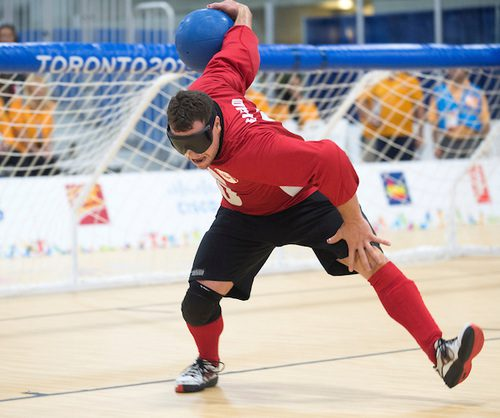 Bruno Hache, here last year at the Pan Am Games, scored two goals in Canada's 11-3 opening-loss to Brazil.