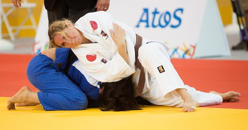 The 2016 Paralympics are the first Games for judoka Priscilla Gagné.