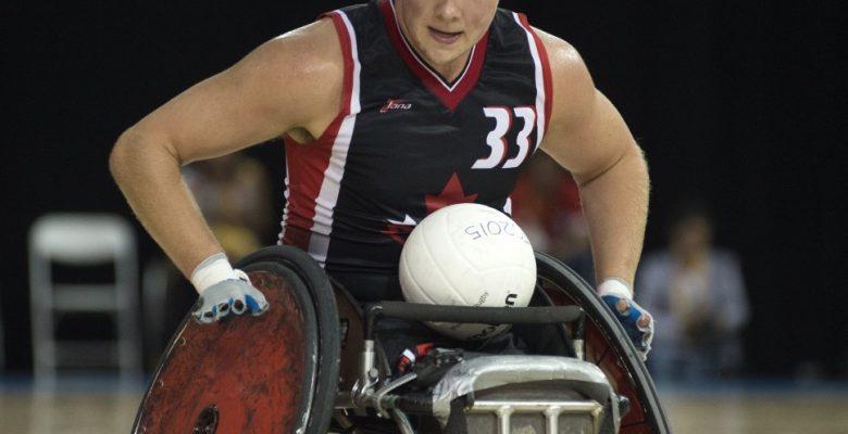 Zak Madell, Wheelchair Rugby.