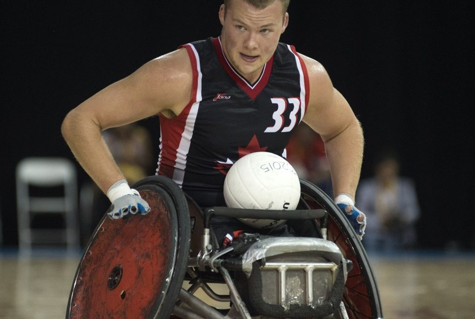 Zak Madell, Wheelchair Rugby.