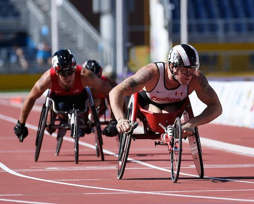 Josh Cassidy will race for his first Paralympic medal on Sunday in Rio, the only medal missing from his resume. Photo courtesy of the Canadian Paralympic Committee.