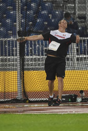Kevin Strybosch, 2015 Parapan Am gold medallist, fell short of his expectations in Rio. Photo courtesy of Canadian Paralympic Committee.