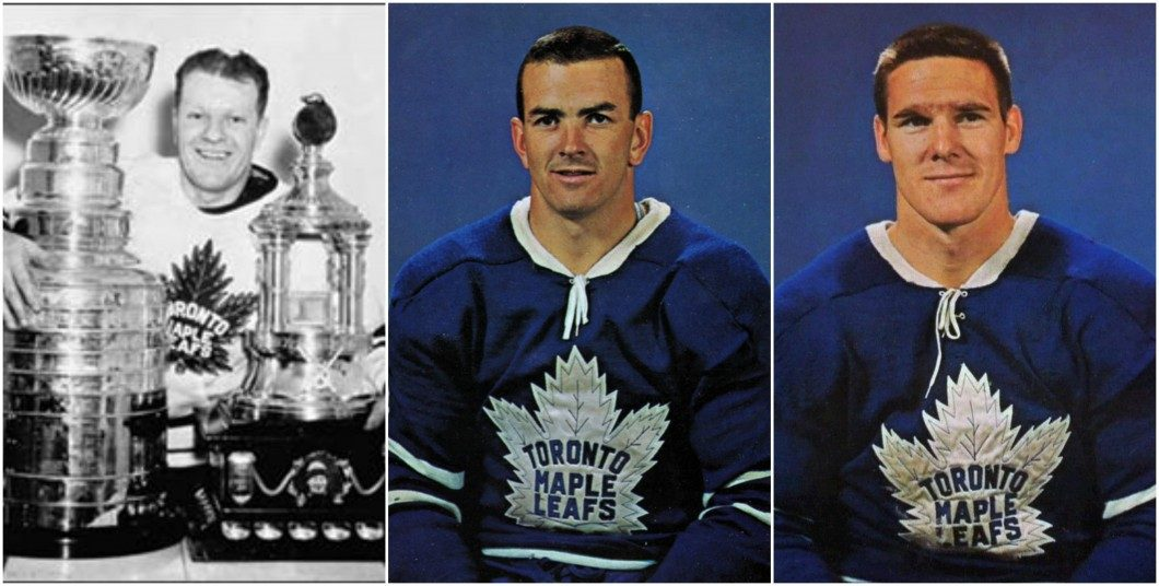 Broda, Keon and Horton, honoured with statues revealed on Thursday outside the Air Canada Centre.
