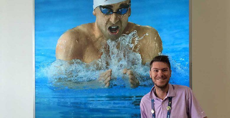 Kyle Morrison in Rio