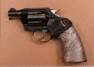 .38 Calibre revolver from Scarborough robbery