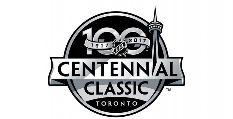 The official logo of the 2016 Centennial Classic
