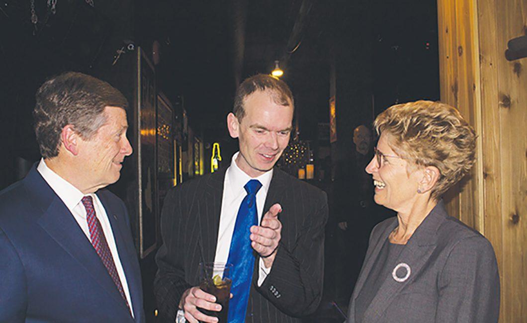 Justin Van Dette talks to Tory and Wynne