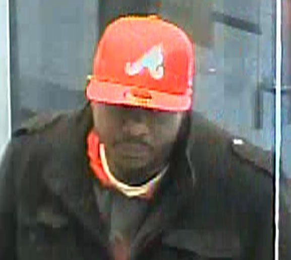 man wanted for bank robbery