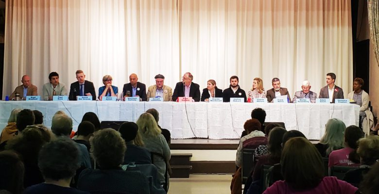 All-candidates meeting for Ward 19