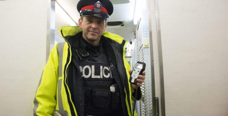 Sgt. Brett Moore of Toronto Police Traffic Services