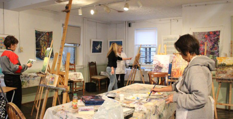 Oil Painting and Cold Wax workshop