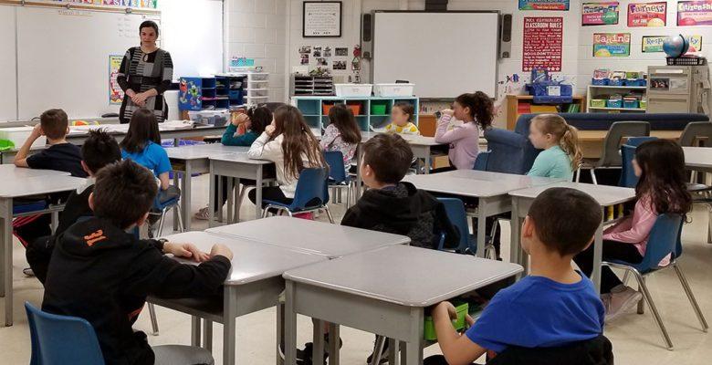 Hassberger's classroom