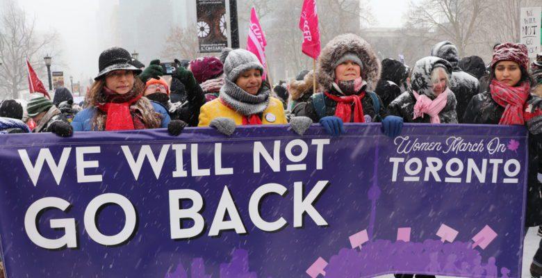 Women March On: Toronto