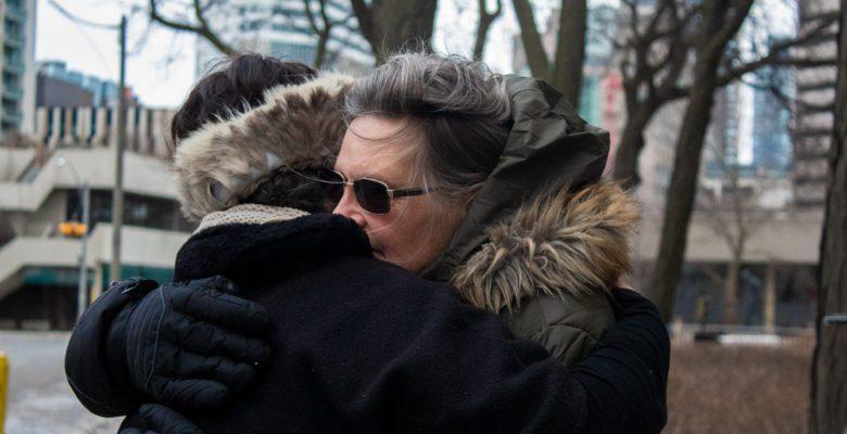 Bruce McArthur murder victim sister gets hugged outside Toronto courtroom